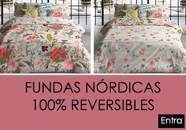 FUNDAS NORDICAS 100 POR 100 REVERSIBLES
