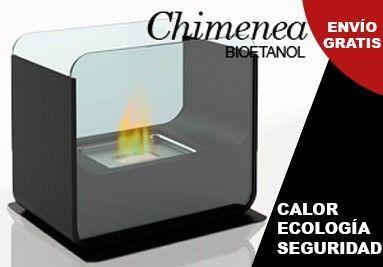 PRODUCTO CHIMENEA DE BIOETANOL