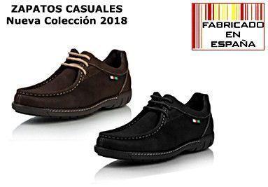 CATEGORIA ZAPATOS CASUALES HOMBRE